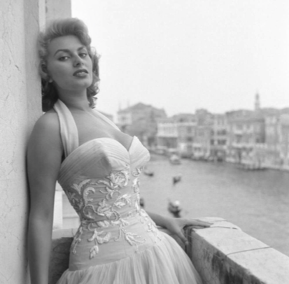 The gorgeous Sophia Loren