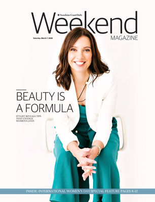 As featured in the Sunshine Coast Daily Weekend Magazine