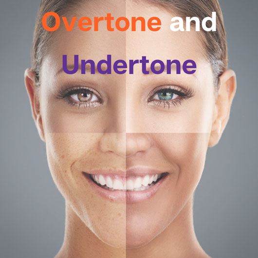 Understanding your individual colouring : the difference between Overtone and Undertone